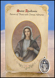 Saint Apollonia: Dental Ailments